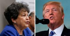 Lois Frankel and Donald Trump