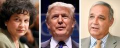 Lois Frankel, Donald Trump and Jeff Miller