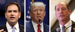 Marco Rubio, Donald Trump and Ted Yoho