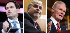 Marco Rubio, Eric Hargan and Bill Nelson