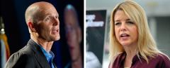 Rick Scott and Pam Bondi