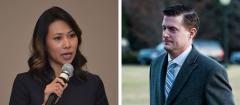 Stephanie Murphy and Rob Porter