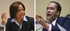 Val Demings and Will Hurd
