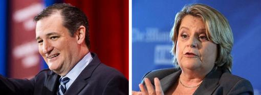 Ted Cruz and Ileana Ros-Lehtinen
