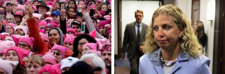 The Women's March and Debbie Wasserman Schultz