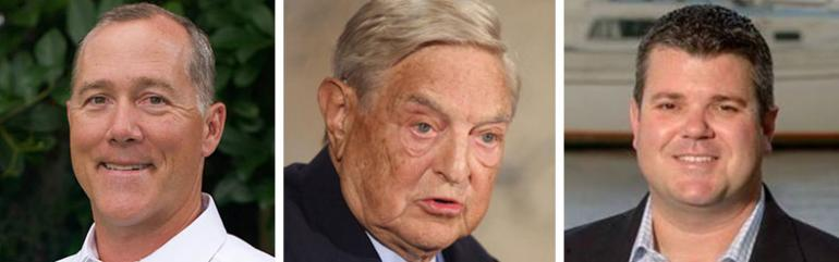 Mike Miller, George Soros and Scott Sturgill