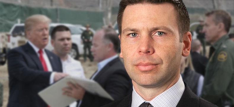 Acting DHS Secretary Kevin McAleenan