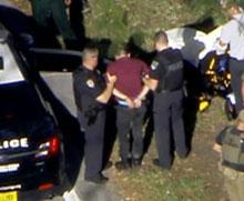 Nikolaus Cruz is taken into custody